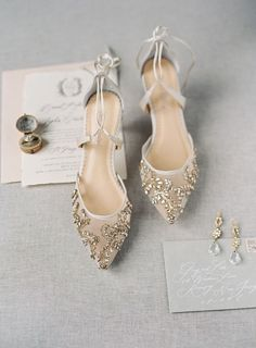 2354a96d74025  ad Springtime wedding shoes from Bella Belle  weddingshoes レースのウェディングシューズ