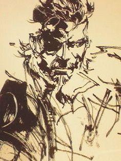 Metal Gear Artwork Highlighted at the Kojima Productions Blog -- Andriasang.com
