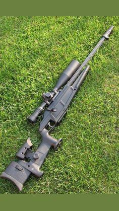 Military Weapons, Weapons Guns, Guns And Ammo, Big Guns, Cool Guns, Gun Vault, Bolt Action Rifle, Hunting Rifles, Weapon Concept Art