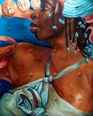 Mission District Carnaval Mural, San Francisco, California  #SF #Travel