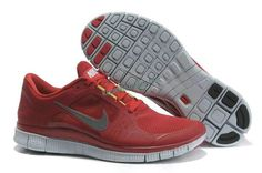 cb5182bb156 Nike Free Run+ 3 Gym Red Pure Platinum Reflect Silver. tianhua huang · Nike  running shoes