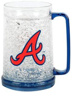 Atlanta Braves Crystal Freezer Mug