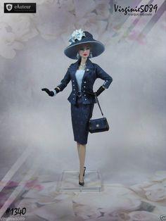 Tenue Outfit Accessoires Pour Fashion Royalty Barbie Silkstone Vintage 1340 | eBay