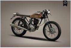 La Corona - #005 - Honda CG125 >> http://lacoronamotorcycles.wix.com/lacorona#!la-corona/c1hoy
