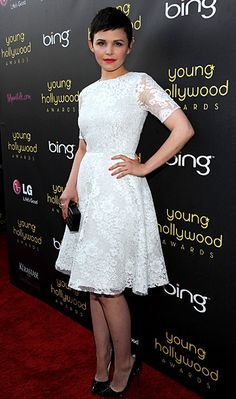 Ginnifer Goodwin - Young Hollywoord Awards 2012 in Monique Lhuillier