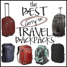 Luggage There is nothing worse than digging to the bottom of your backpacking backpack to find that clean pair of socks. These 6 travel backpacks will help you be more organized and comfortable on the road. Travel Backpack Carry On, Carry On Luggage, Travel Luggage, Travel Bags, Travel Backpack With Wheels, Travel Packing, Packing Lists, Travel Europe, Travel Ideas