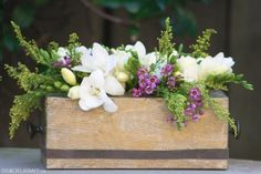 5. #Tissue Box - 9 Beautiful and Easy DIY #Floral Centerpieces ... → DIY #Decor