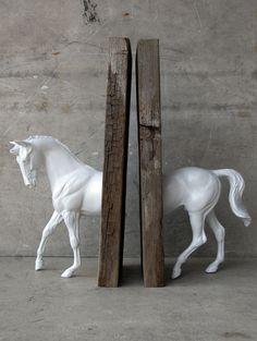 DIY Horse Book stand
