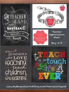 Teacher Appreciation Week is May 4-8. If you know of any teachers out there that you appreciate, here is the perfect gift - Teacher appreciation week is May 4th - 8th. Order by April 27th to ensure delivery on time.  http://www.mymagnoliaandvine.com/MARIALINDQUIST/shop/PRODUCTDETAIL.aspx?prod=S0032 (Apple for the Teacher Snap) #teacherappreciation #apple #magnoliaandvine