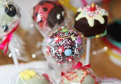Schoko-Cake Pops