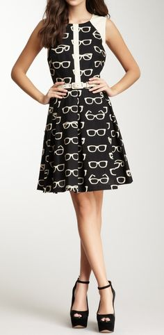 Cute Librarian style
