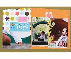 Scrapbook Large Photos to Portray an Everyday Moment