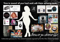 Enter to win: Because you deserve this - a $300 prize pack   http://www.dango.co.nz/s.php?u=D3E4CwJV2477