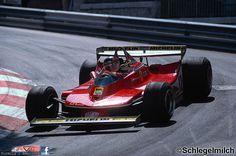 1979 Monaco Ferrari 312T4 Gilles Villeneuve