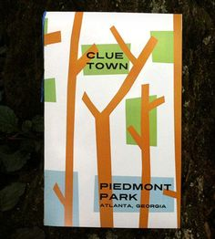 Clue Town Books: Piedmont Park DATES!!  also have oakland cemetary