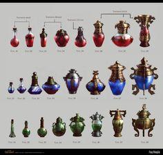 medicine bottle by FangWangLlin.deviantart.com on @deviantART