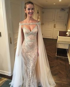 Beautiful Miss USA Olivia Jordan looking divine in a BERTA ❤️