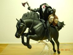OOAK Breyer Jumping Pony Headless Horseman!!!