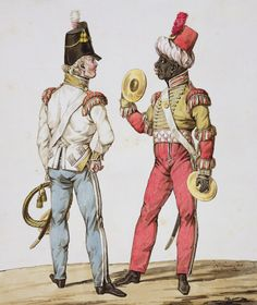 Bandsmen, The 39th (Dorsetshire) Regiment of Foot, 1815 by Noel-Dieudonne Finart. The First Battalion was in Lower Canada from August 1814 to June 1815. Main engagement: Plattsburgh in September 1814 as part of Major-General F.P. Robinson's First Brigade.