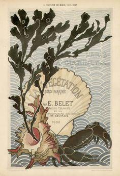 Emile Belet sous marine | Art Nouveau Prints by Emile Belet