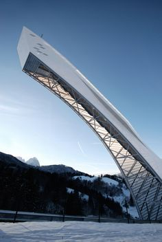 New Olympic Ski Jump in Garmisch-Partenkirchen | terrain: loenhart&mayr