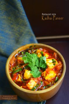 Ever wished of recreating the same delicious ,rich and lovely Kadhai paneer from…