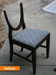 Before & After: Melissa's Magic Transforming Chair