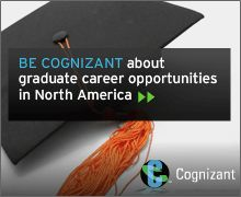 Cognizant is provider of custom information technology, consulting and business process outsourcing services. They hire Eller students for analyst roles. http://www.cognizant.com/careers/