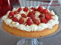 Tarte aux fraises chantilly mascarpone,la meilleure des tartes aux fraises,tarte aux fraises crème amande et chantilly mascarpone!