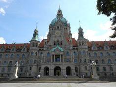 Neues Rathaus Frontansicht