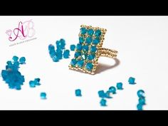 DIY Tutorial Anello Anemone - YouTube