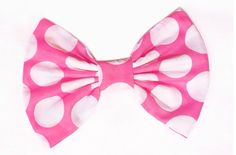 This is my pink bow
