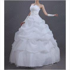 2013 Hot New Design Three Layer Off Shoulder Bride Princess Wedding Dress on eBid United States
