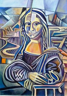 Monalisa de Miguel Angelo [Miguel Angelo Barbosa] (Gioconda / Mona Lisa)