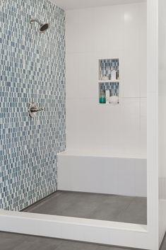 Kerdi shower niche, bench & linear drain-Blue Lagoon | schluter.com