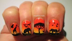 Angelina´s Nails & More: Nirgendwo in Afrika