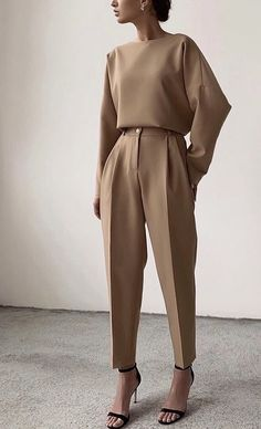 - - clothing - Business Outfits for Work Looks Chic, Looks Style, My Style, Glam Style, Look Fashion, Korean Fashion, Fashion Quiz, Winter Fashion, Fashion Mask