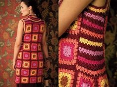 #31 Granny Square Dress, Vogue Knitting Crochet 2012 (+playlist)