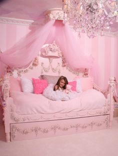 Villa Bella dream bedroom for lex when shes a big girl so cute