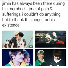 Let Jimin be an aspiration to us ARMYs. Lets always be kind towards people