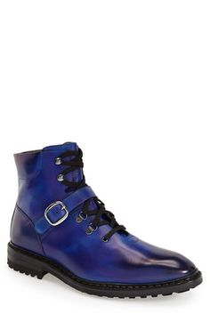 Carlos Santos 'Santiago' Plain Toe Boot (Men) available at #Nordstrom