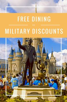 7bde1a2a1a military discount vs free dining discount for your family at walt disney  world Disney World Florida