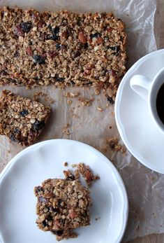 vegan breakfast bars  I think this would taste great on the river!!