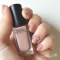 指先に上品さをプラス♡オフィスウケ抜群なネイルデザイン - LOCARI(ロカリ) French Tip Nails, Simple Nails, Beauty Care, Nail Art Designs, Nail Polish, Make Up, Nail Arts, Nail Ideas, Instagram