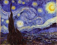 Vincent van Gogh Starry Night Fine Art Print