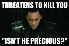 If they didn't want us to like Loki, they should have hired an ugly actor
