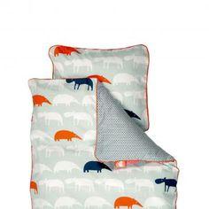 Zoopreme JUNIOR sengetøj til dreng fra  Silly U