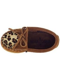 Minnetonka Moccasin Leopard Kilty (Infant/Toddler/Youth) | Piperlime