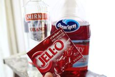 Cranberry Jello Shot