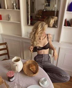Lingerie fine made in 🇫🇷 Cool Outfits, Fashion Outfits, Womens Fashion, Fashion Hacks, Classic Outfits, Girl Fashion, Looks Style, My Style, Lingerie Fine